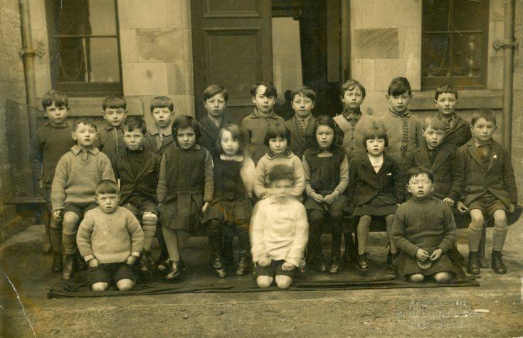 Dornoch School photograph c 1930