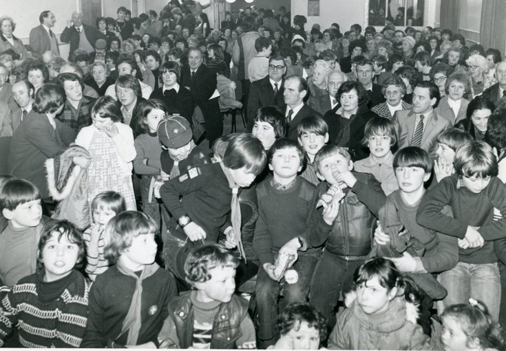 Opening of Dornoch Social Club 1982