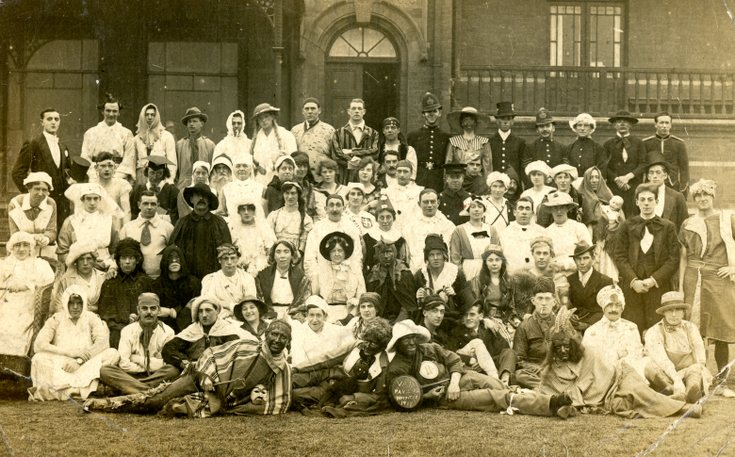 WW1 hospital photograph Wm. Jappy