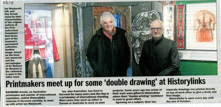 'Double Drawing' at Historylinks