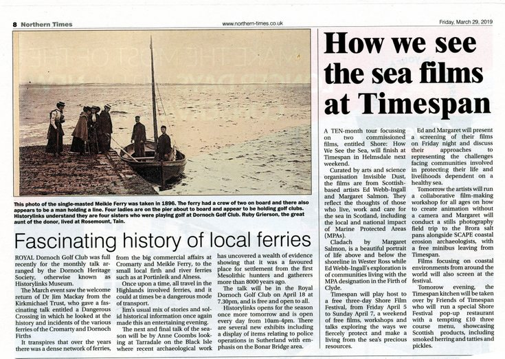 Fascinating history of local ferries
