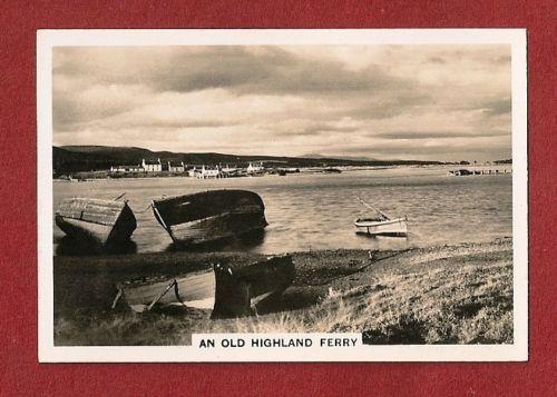 Loch Fleet - An old Highland ferry