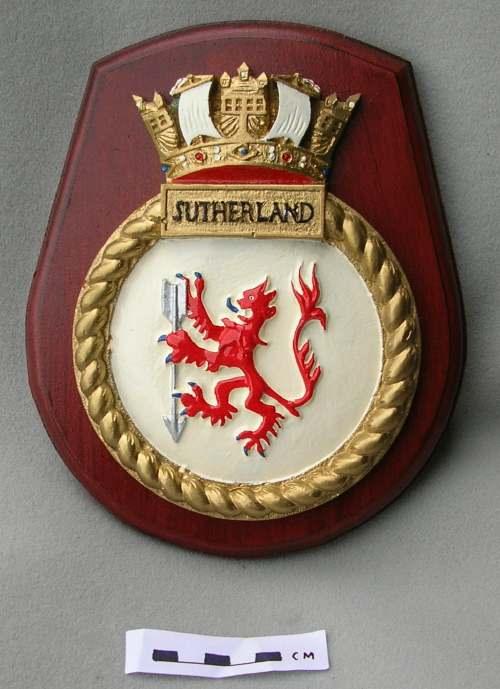 HMS Sutherland crest