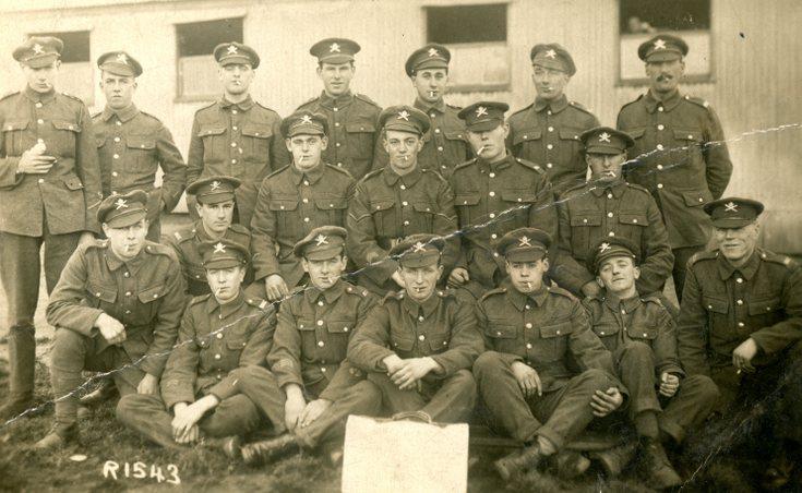 William Jappy in the Army WW1