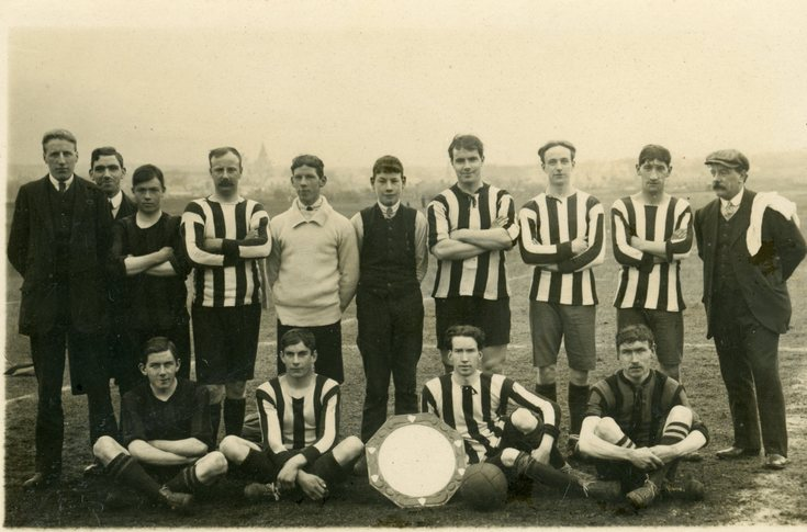 Dornoch Football Team photograph