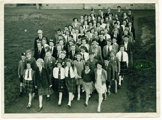 Dornoch Academy pupils outing 1949