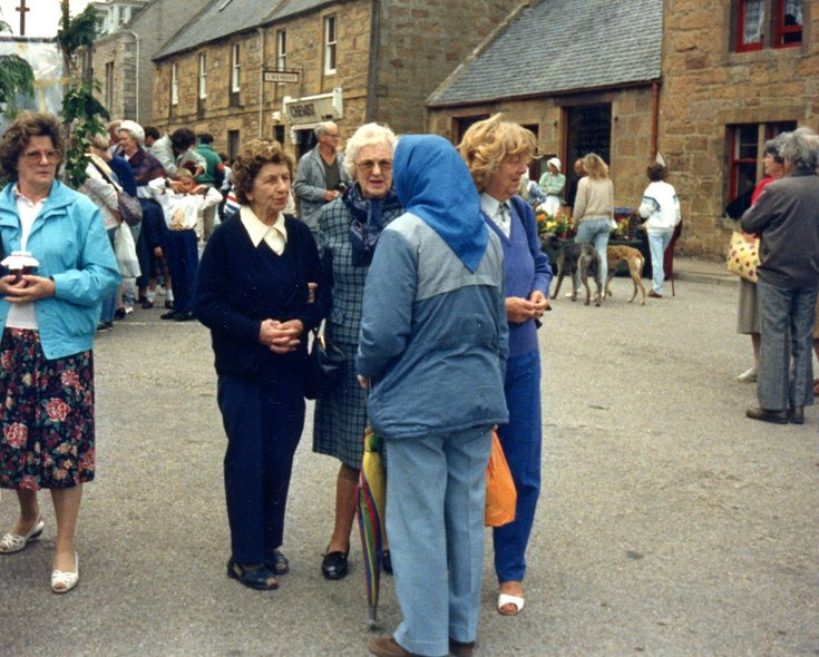 Community market in High Street 1990s