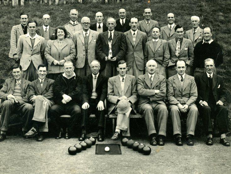 Dornoch Bowling Club 1948