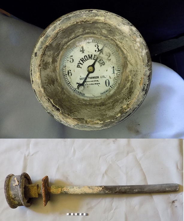 Baker's oven Pyrometer ( thermometer)