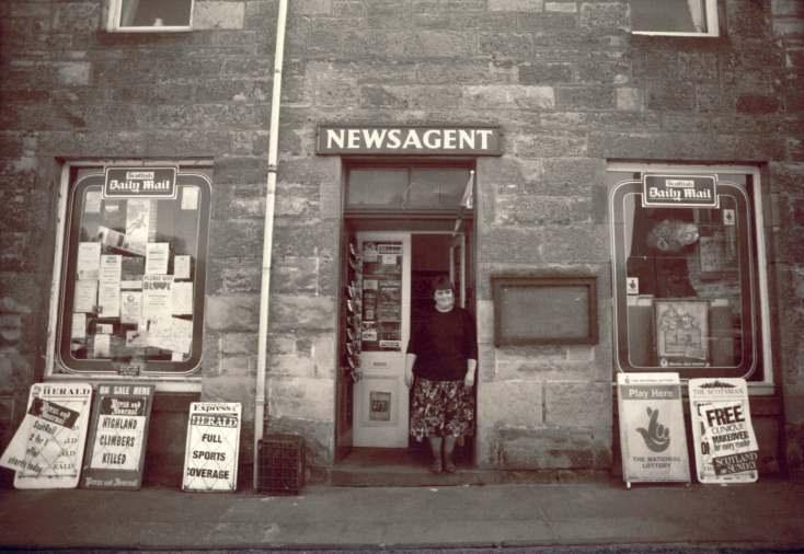 Newsagent, High Street