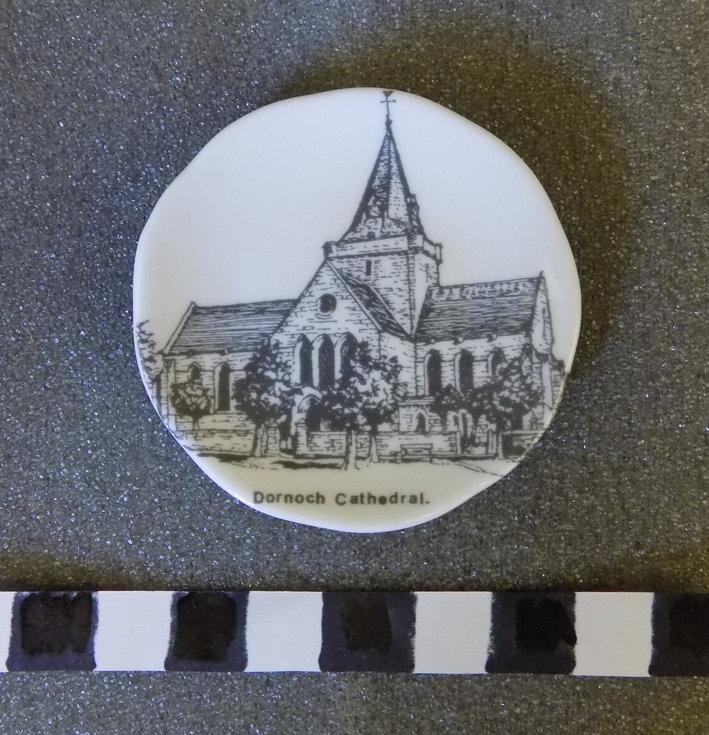 Small commemorative saucer