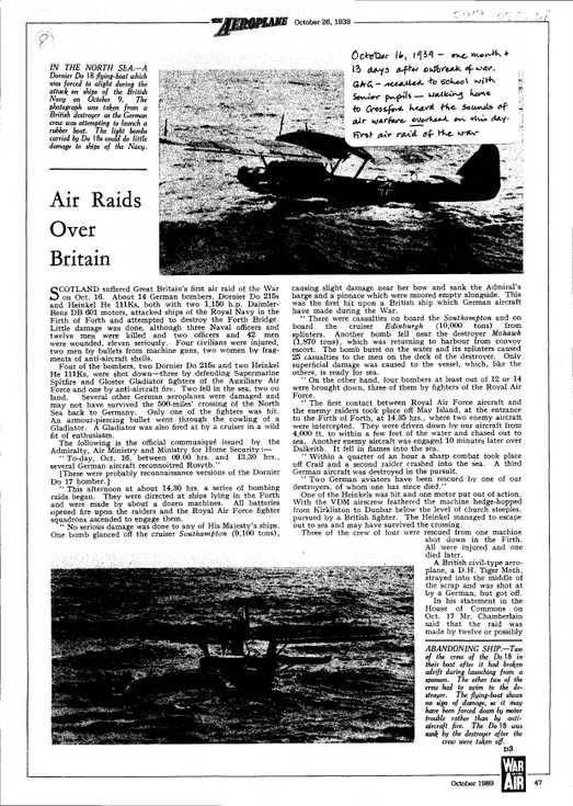 Air Raids Over Britain