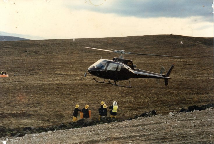 Helicopter training late 1980's