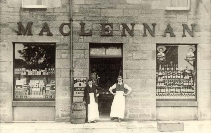 Maclennan's grocer's shop