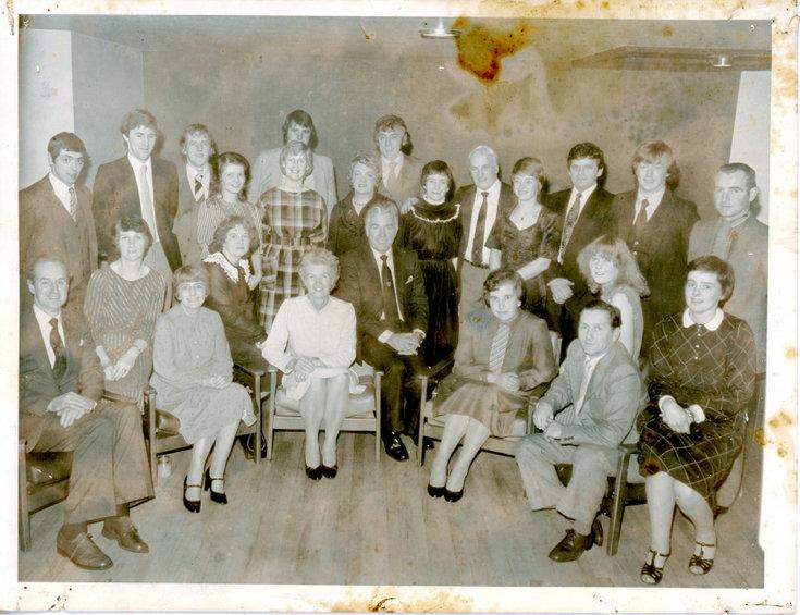 Dornoch Fire Service Social Event 1991