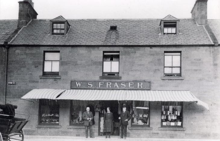 WS Fraser draper