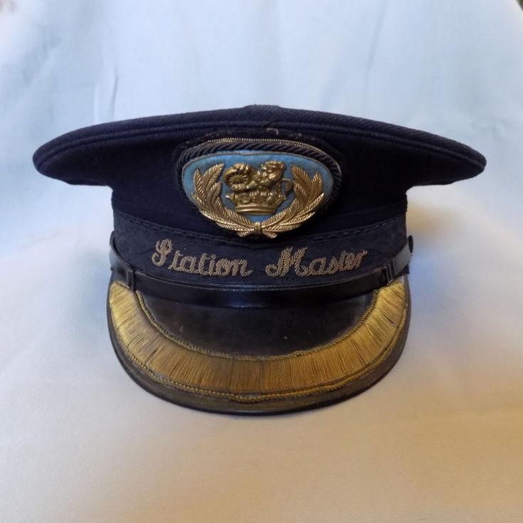 Railway Station Master's hat