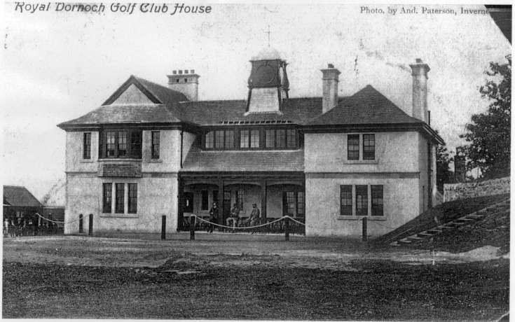 Royal Dornoch Golf Club House
