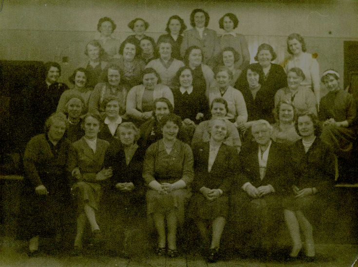 Embo (School?) Ladies circa WW1