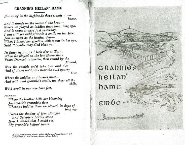 Grannie's Heilan' Hame Embo