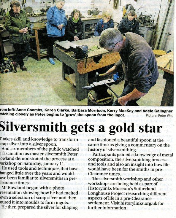 Silversmith workshop - Longhouse project