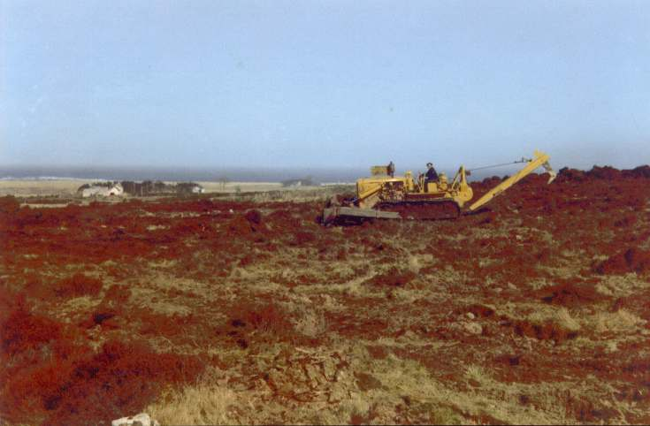 Land reclamation at Skelbo
