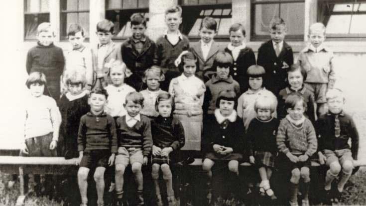 Dornoch Academy class 1935