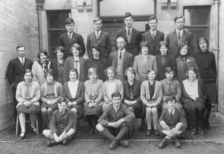 Dornoch Academy class 1930's