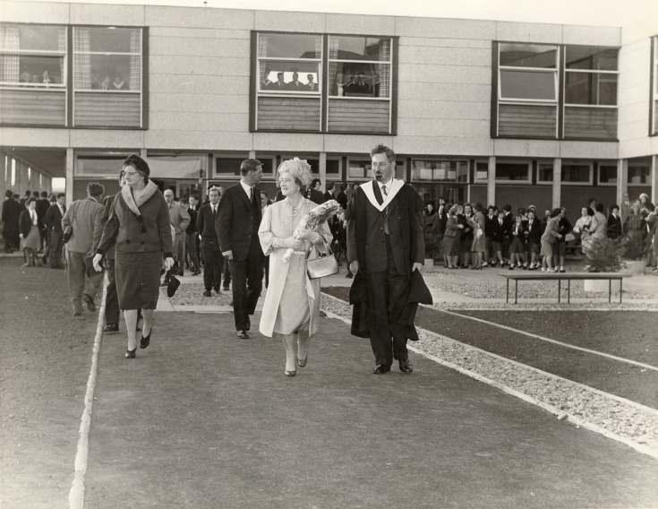 Opening of Dornoch Academy 1963