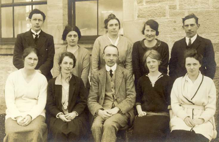 Dornoch Academy staff 1923