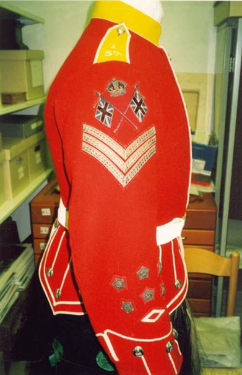 Sgt. Bethune's uniform