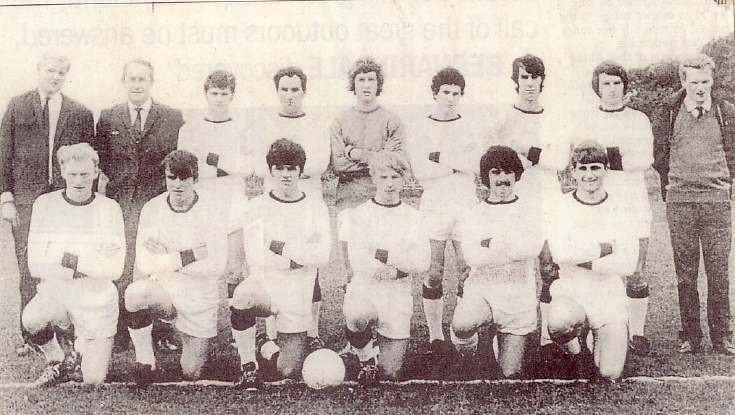 Dornoch football club 1972