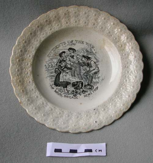 Commemoration plate of the Crimean war