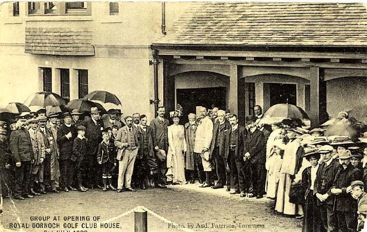 Opening of Golf Clubhouse
