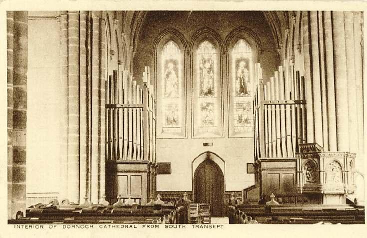 Dornoch Cathedral interior