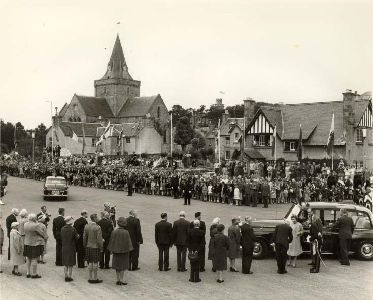 Visit of Queen & Prince Philip 1964