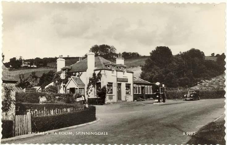 Macrae's tearoom, Spinningdale