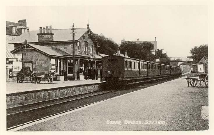 Bonar Bridge station