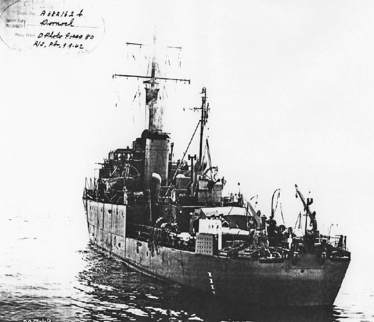 HMS Dornoch 1942