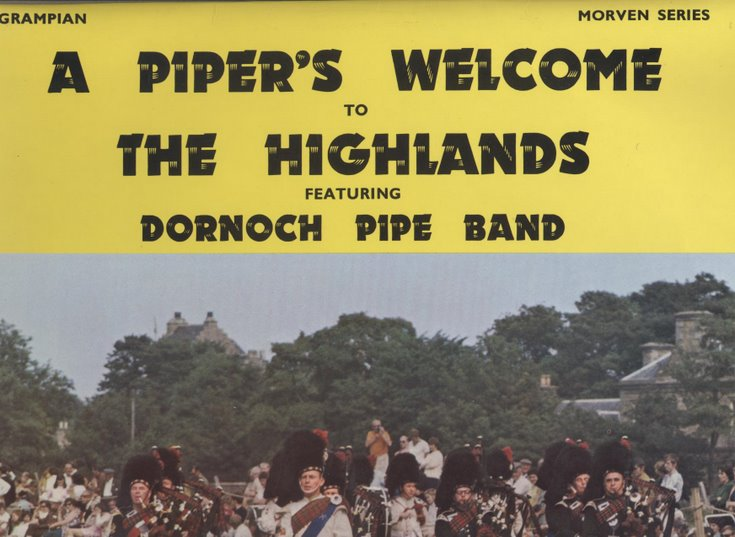 A piper's welcome to the Highlands