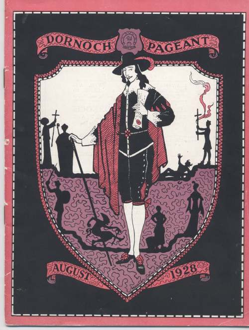 Programme for Dornoch pageant 1928