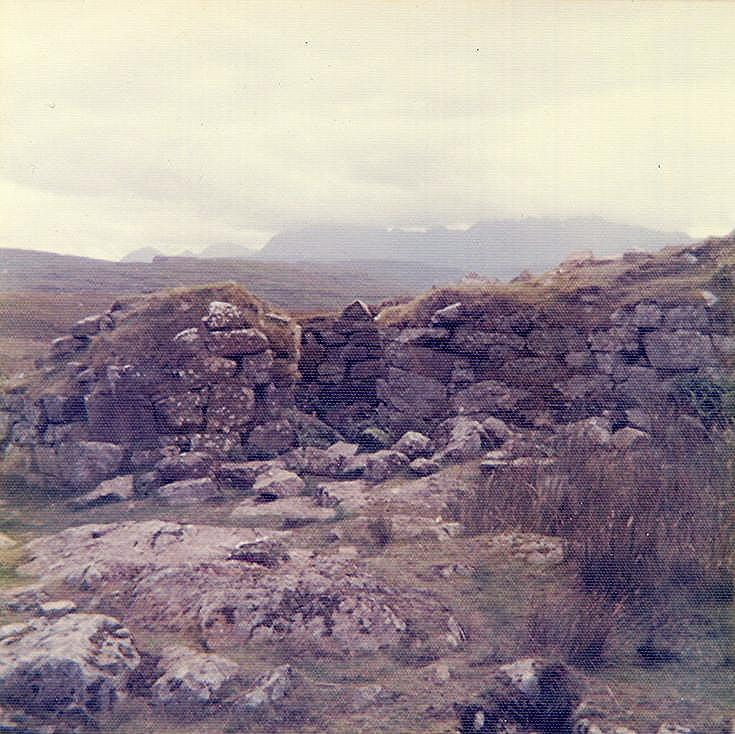 Broch at Dun Beag, Struan More, Skye