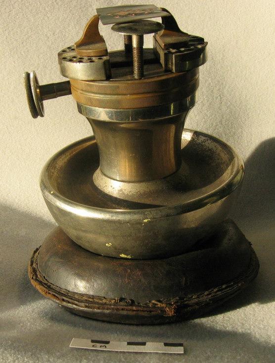 Andrew Paul's engraver's block