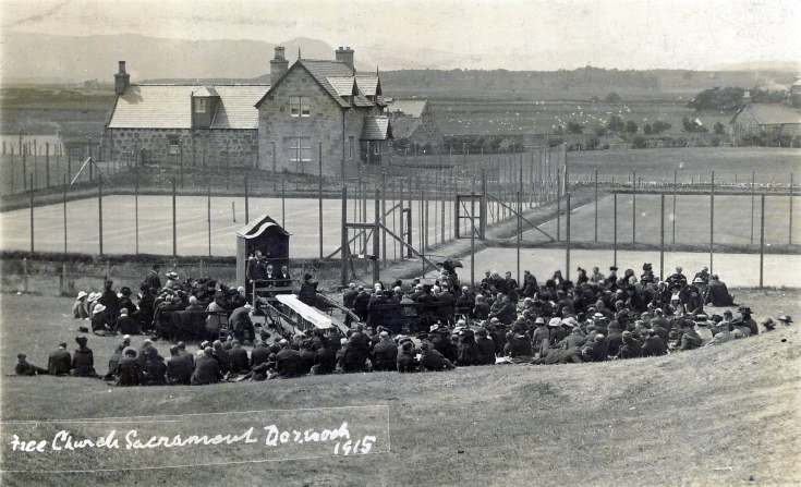 Free Church sacrament Dornoch 1915