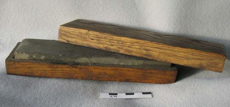 Watchmaker's whetstone in box