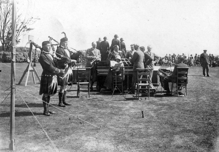 Girl Guide rally, Dunrobin, 1931