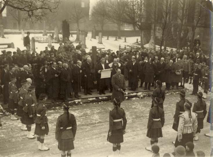Proclamation of George VI