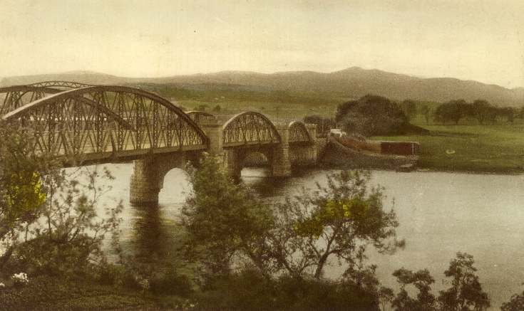 Three arched Bonar Bridge