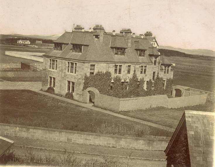Abden, Dornoch prior to building of Bishopsfield houses