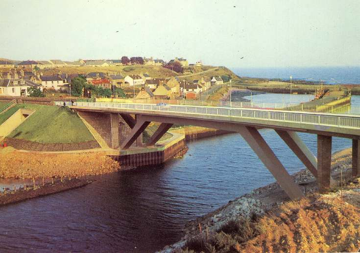 The new bridge at Helmsdale